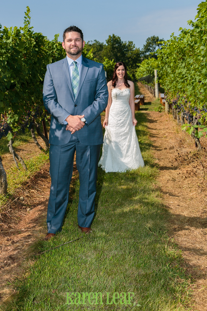First look at Jonathan Edwards winery weddng