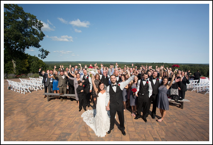 Large group photo Overlook at Geer Tree Farm