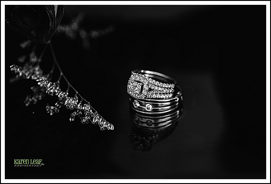 bride and grooms ring photo