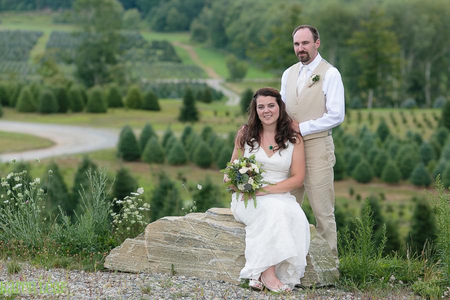 Overlook at Geer Tree Farm Wedding