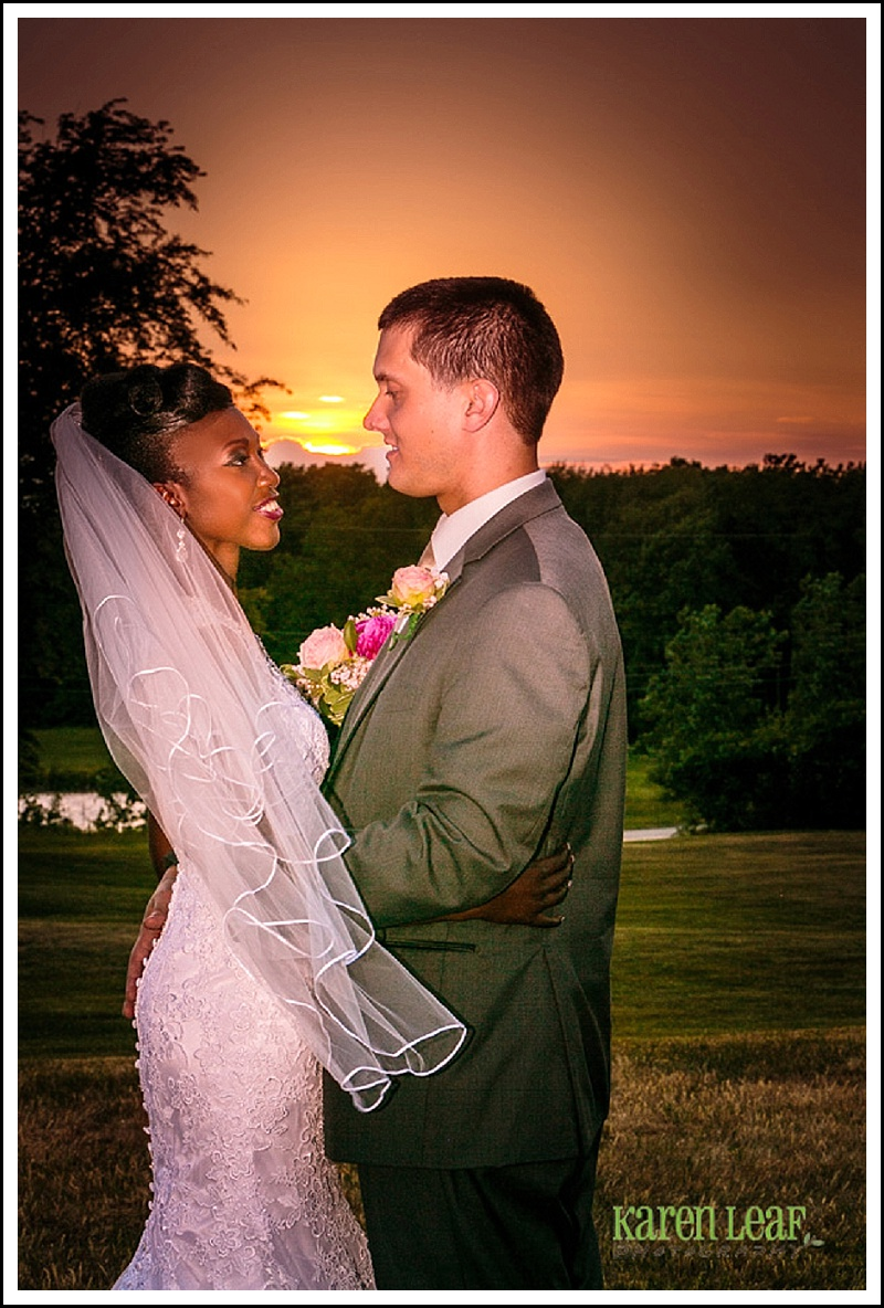 sunset wedding pictures fl and paul