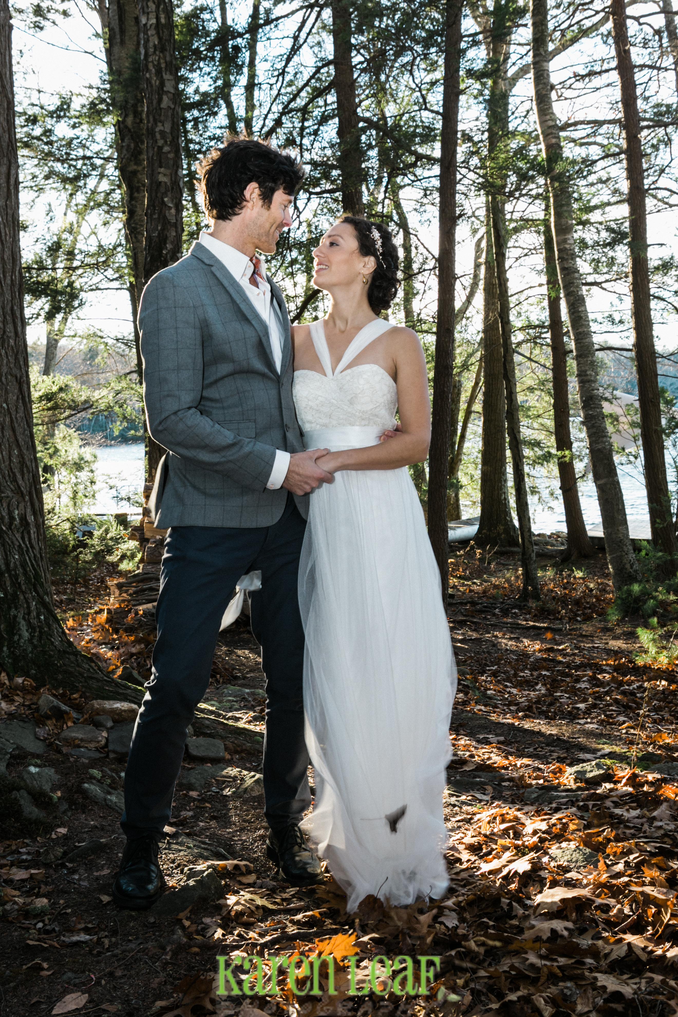 Private wedding ceremony, Woodstock CT